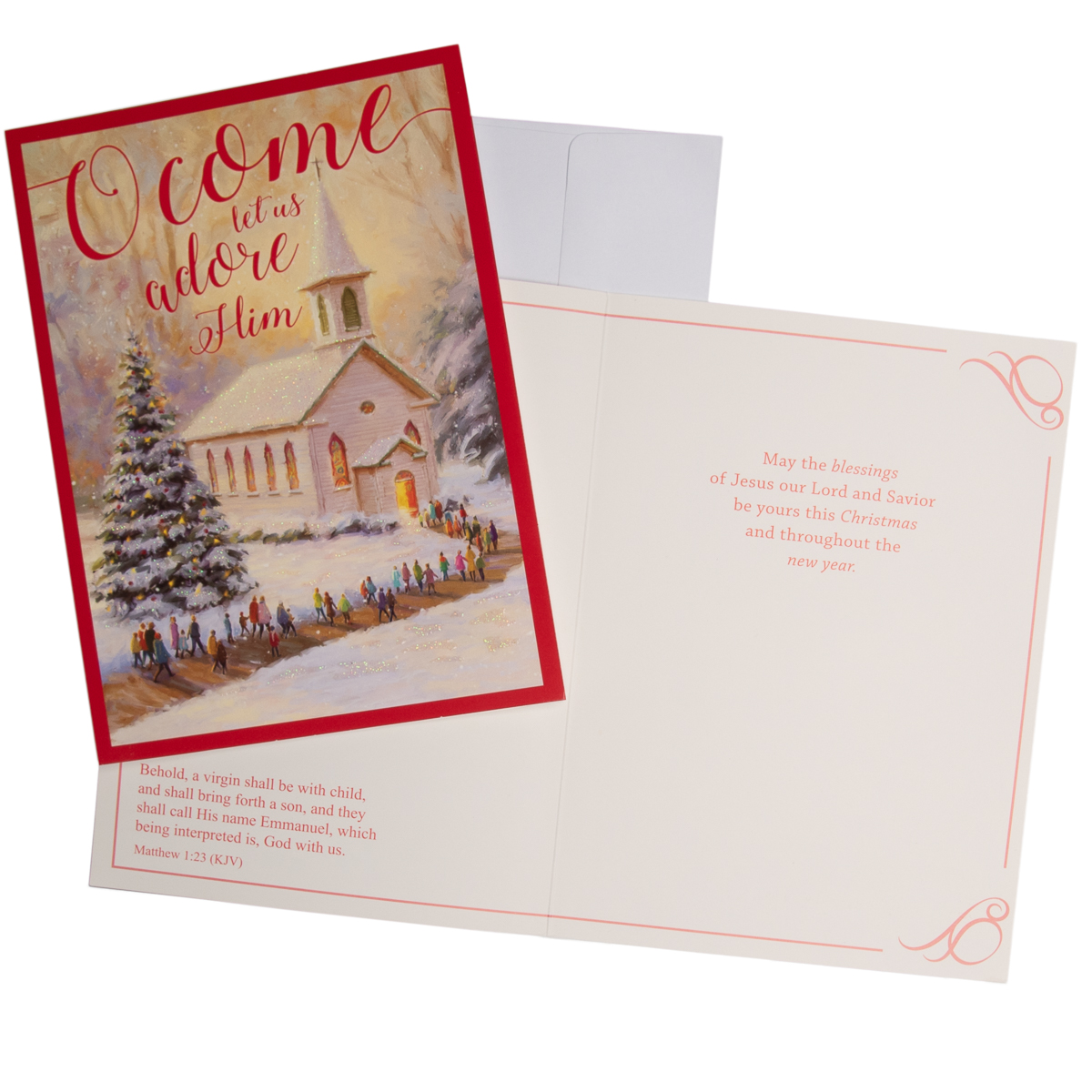 48pk-Merry-Christmas-Cards-Bulk-Assortment-Holiday-Card-Pack-with-Foil-amp-Glitter thumbnail 20
