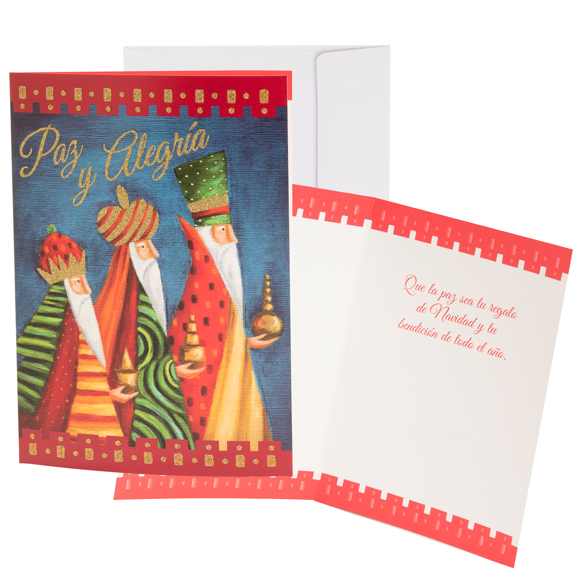 48pk-Merry-Christmas-Cards-Bulk-Assortment-Holiday-Card-Pack-with-Foil-amp-Glitter thumbnail 24