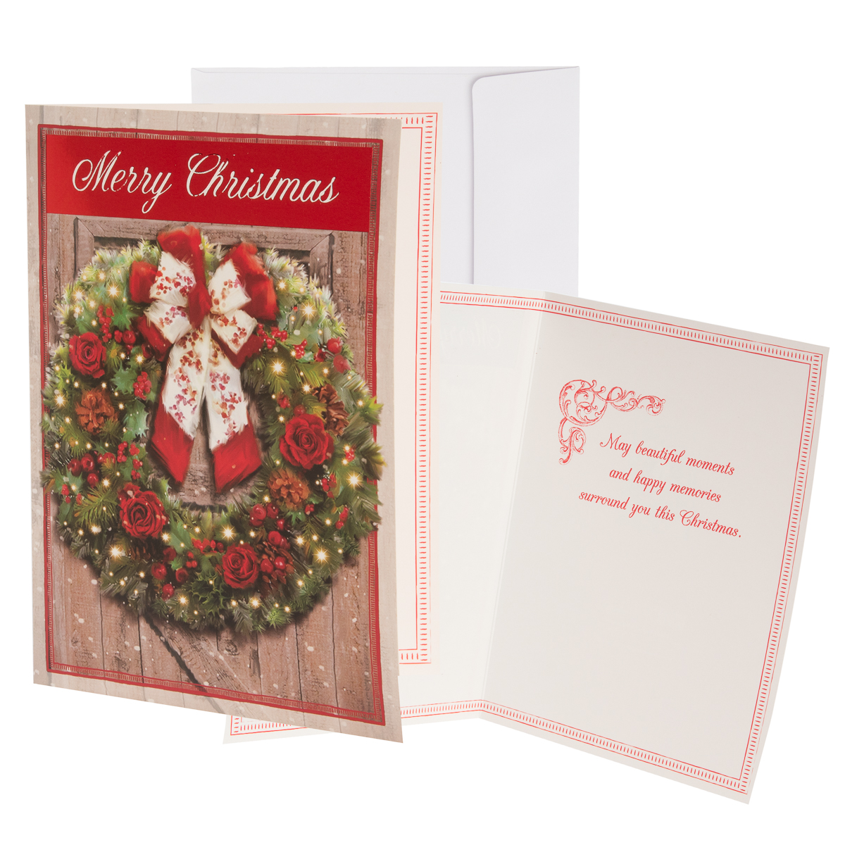 48pk-Merry-Christmas-Cards-Bulk-Assortment-Holiday-Card-Pack-with-Foil-amp-Glitter thumbnail 28