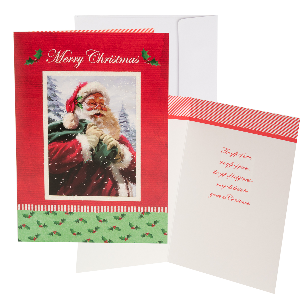 48pk-Merry-Christmas-Cards-Bulk-Assortment-Holiday-Card-Pack-with-Foil-amp-Glitter thumbnail 29
