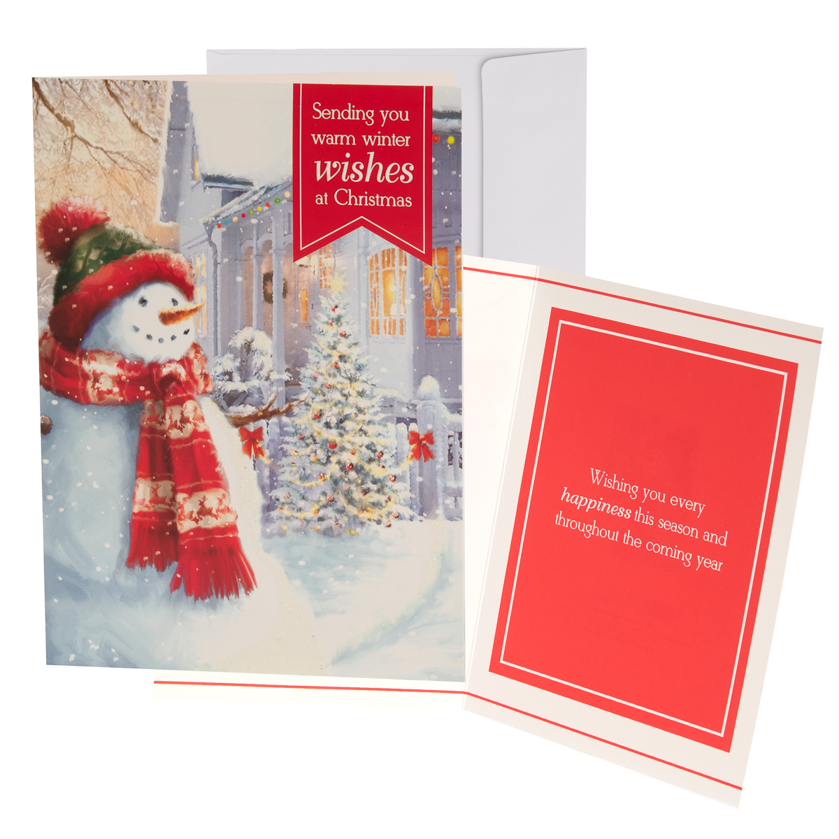 48pk-Merry-Christmas-Cards-Bulk-Assortment-Holiday-Card-Pack-with-Foil-amp-Glitter thumbnail 31