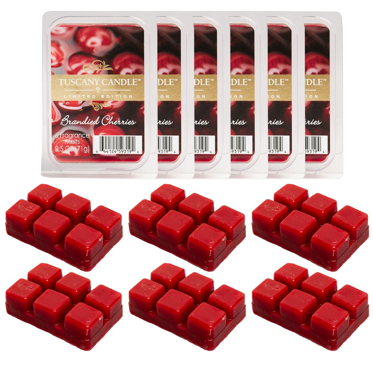 6pk Tuscany Candle Air Freshener Wax Warmer Melts Cubes ...