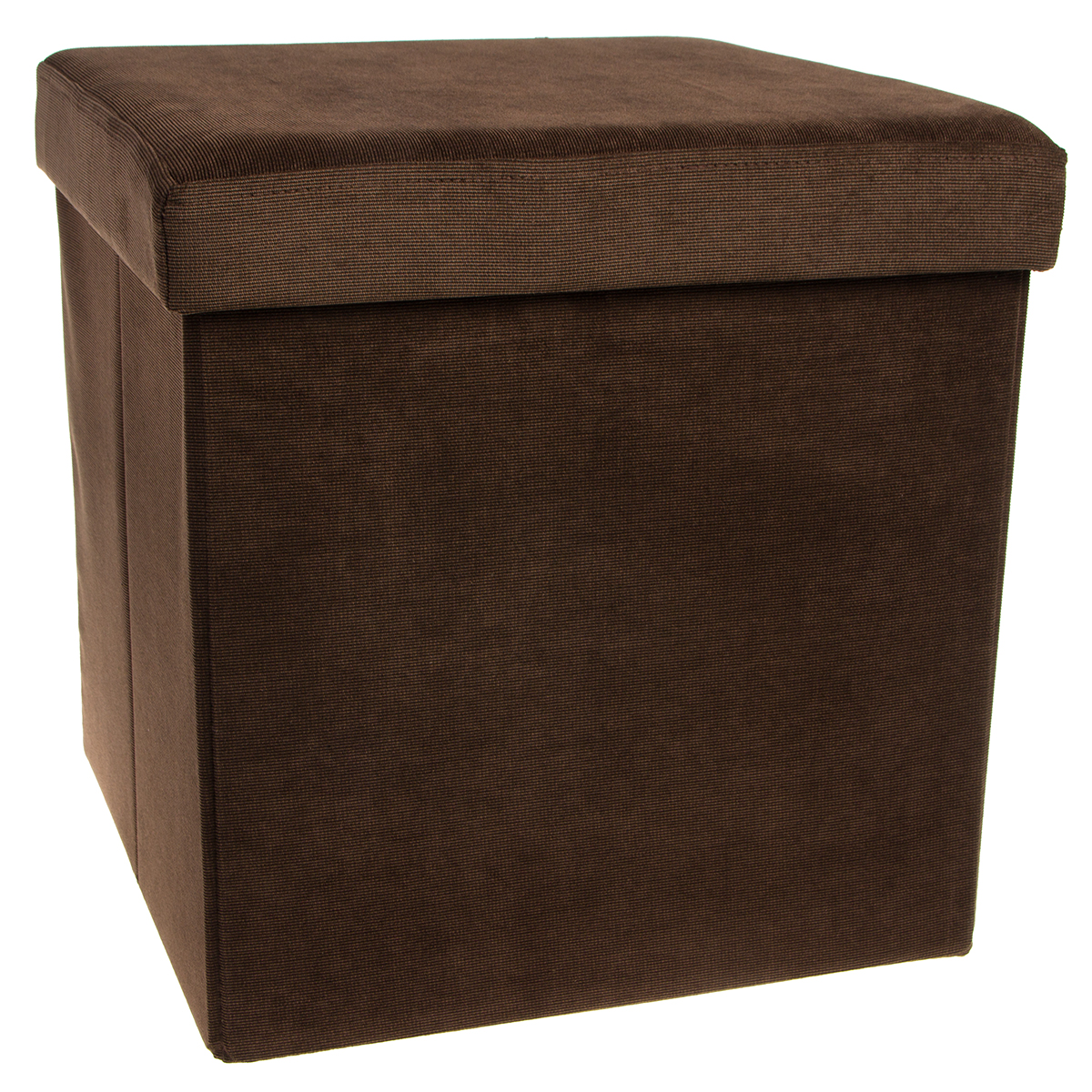 Storage-Ottoman-Cube-Folding-Fabric-Square-Foot-Rest-