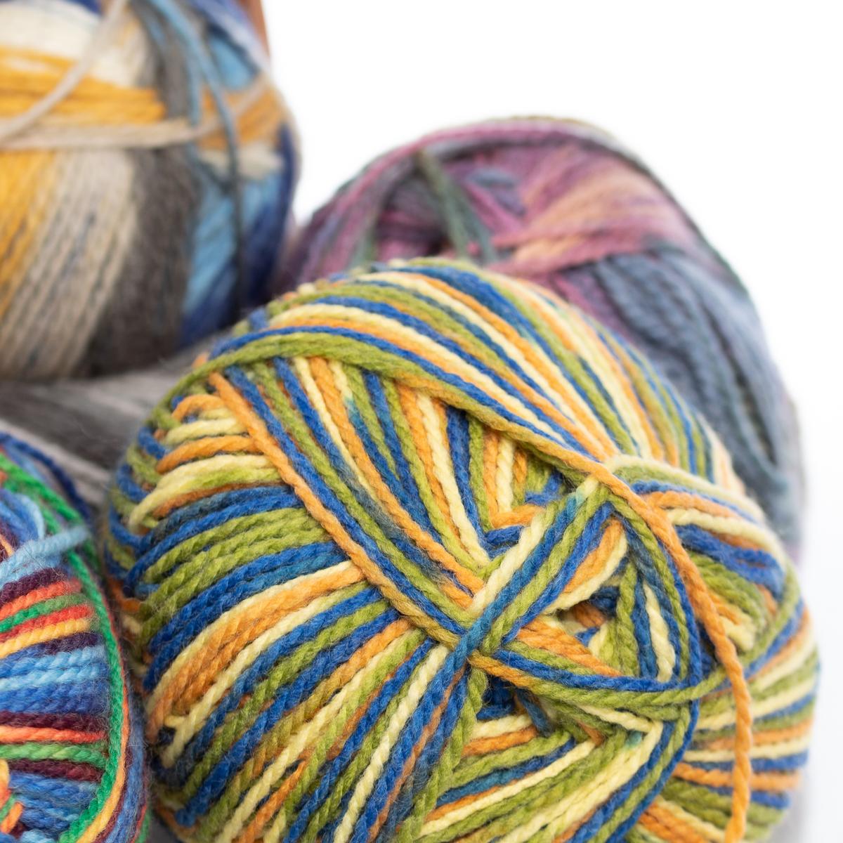 3pk-Lion-Brand-Color-Waves-Acrylic-amp-Wool-Yarn-Light-3-Soft-Knitting-Crocheting thumbnail 14
