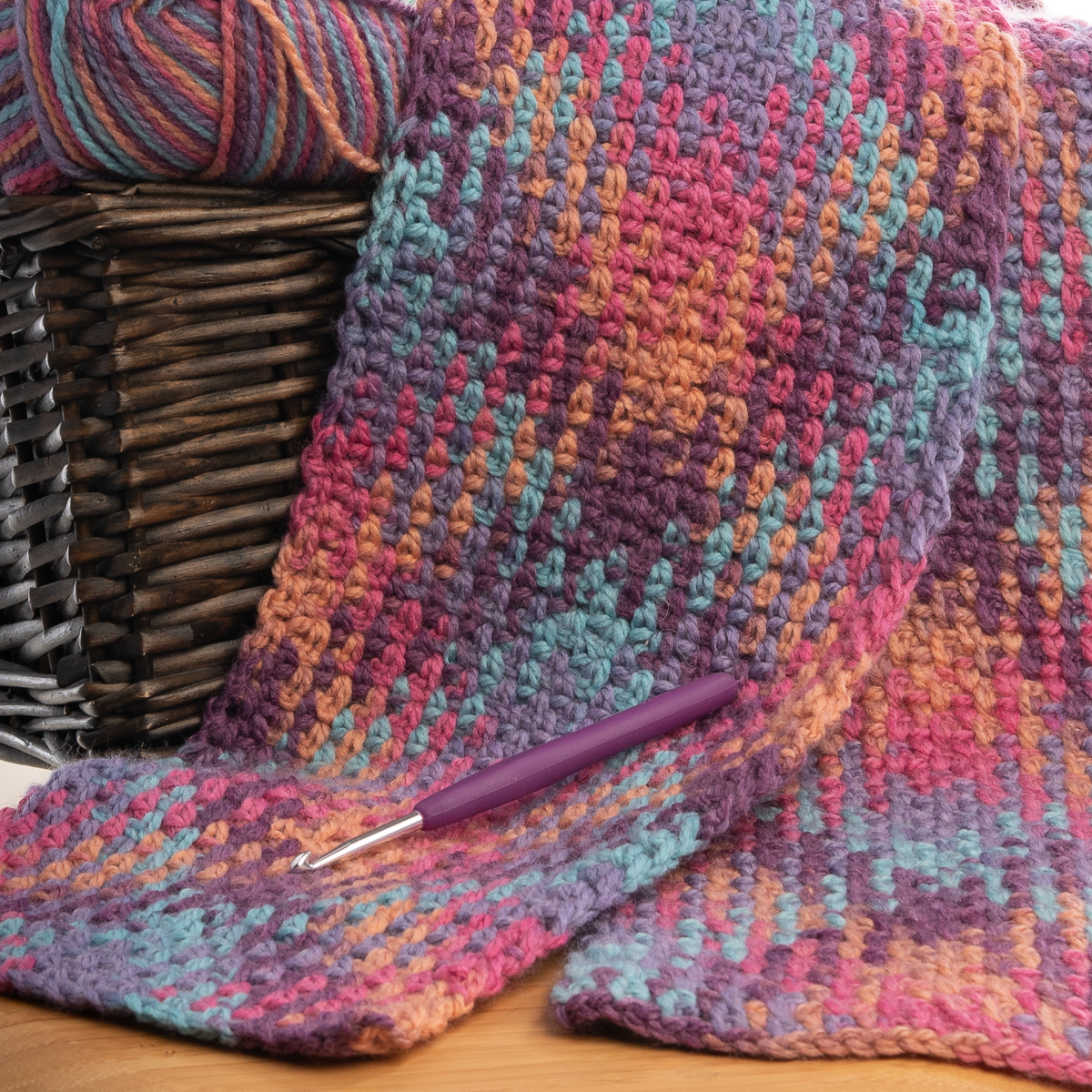 3pk-Lion-Brand-Color-Waves-Acrylic-amp-Wool-Yarn-Light-3-Soft-Knitting-Crocheting thumbnail 30