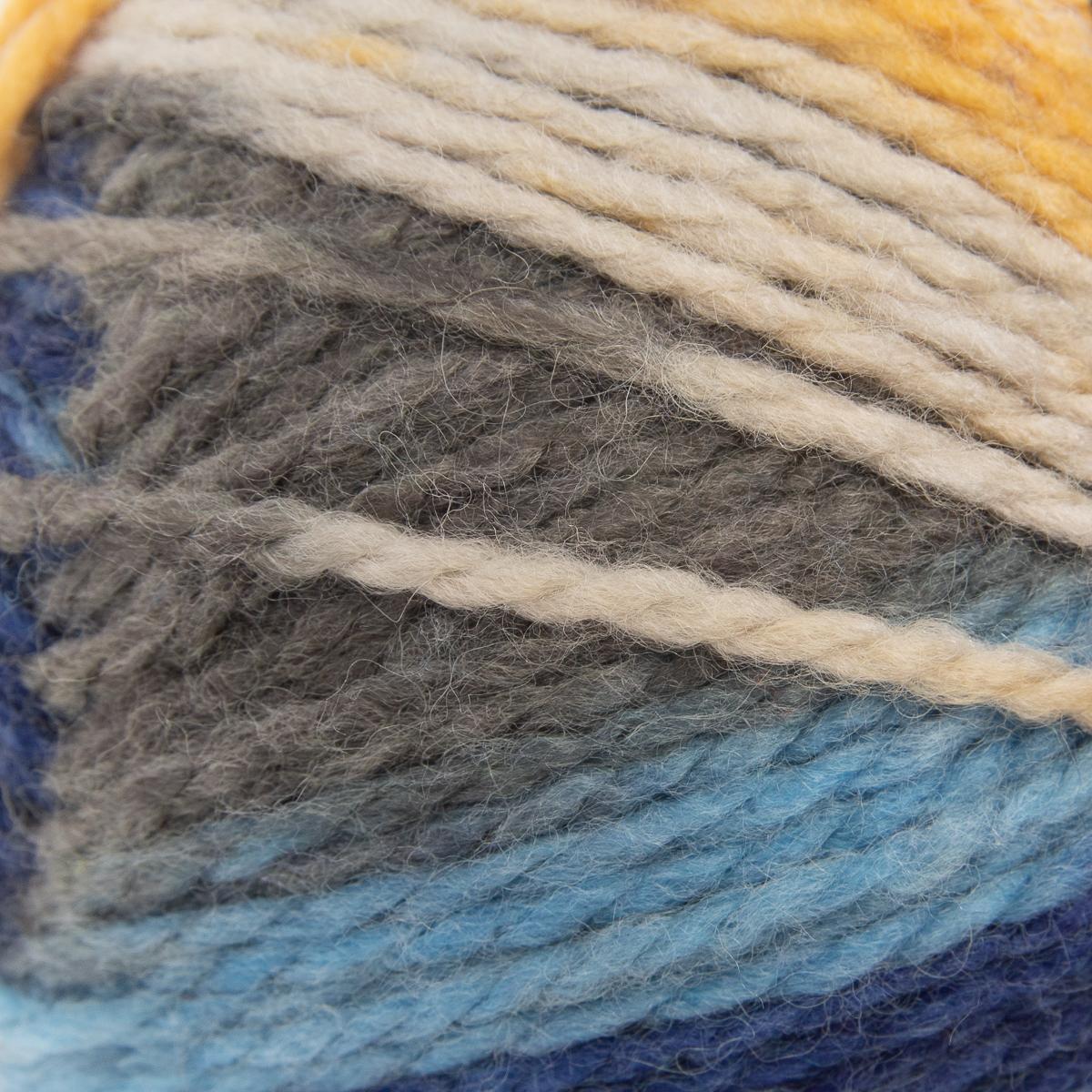 3pk-Lion-Brand-Color-Waves-Acrylic-amp-Wool-Yarn-Light-3-Soft-Knitting-Crocheting thumbnail 43