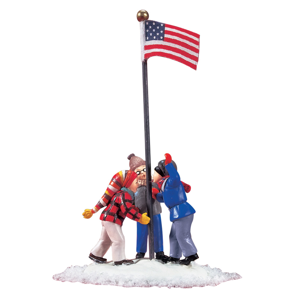 "NEW Department 56 ""A Christmas Story"" House, Flag Pole And ..."