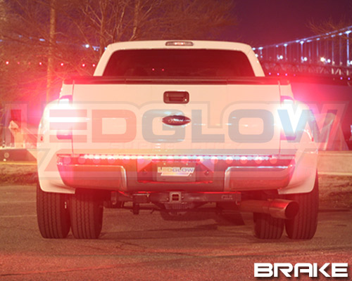 60 ledglow red white led tailgate light bar chevrolet chevy 60 red white tailgate light bar mozeypictures Gallery