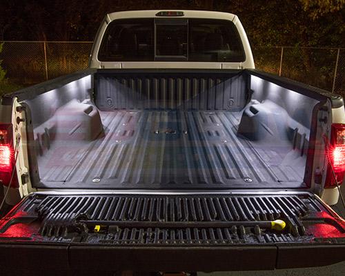 8pc Ledglow Truck Bed White Led Lighting Light Kit For