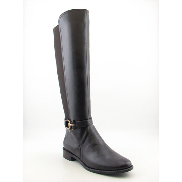 Anne Klein AK Carlene Womens SZ 7 Brown DBrn/DBrn Boots Knee Shoes