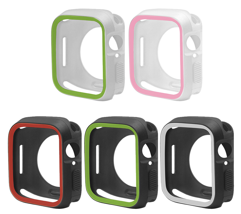 New-TPU-Case-Flexible-Rubber-Trim-Cover-for-Apple-Watch-Series-4-44mm miniatuur 8