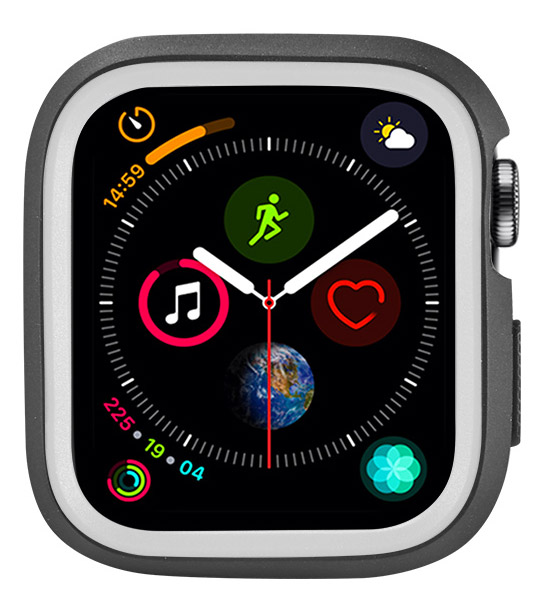 New-TPU-Case-Flexible-Rubber-Trim-Cover-for-Apple-Watch-Series-4-44mm miniatuur 11