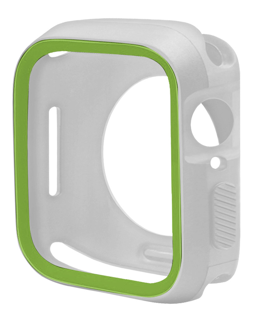 New-TPU-Case-Flexible-Rubber-Trim-Cover-for-Apple-Watch-Series-4-44mm miniatuur 33