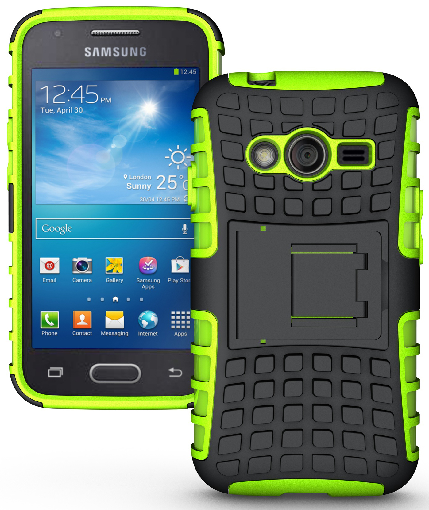 GRENADE GRIP RUGGED TPU SKIN HARD CASE COVER STAND FOR ...