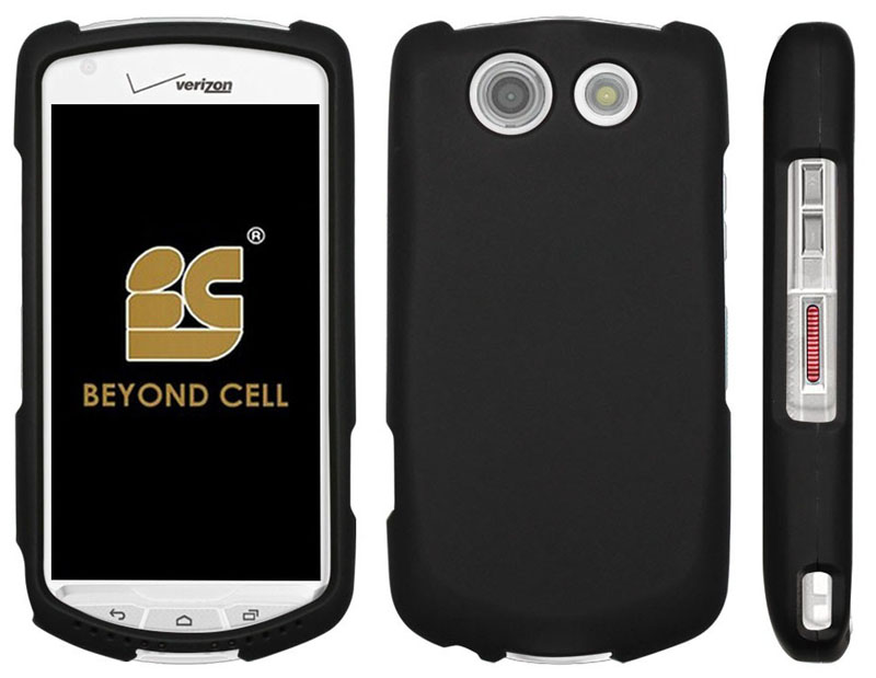 low priced df997 436a6 Details about BLACK CASE + BELT CLIP HOLSTER SCREEN SAVER FOR VERIZON  KYOCERA BRIGADIER E6782