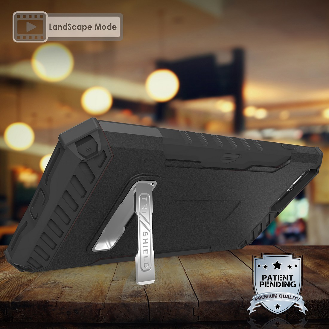 thumbnail 3 - TRI-SHIELD RUGGED CASE STAND CARD SLOT COVER + STRAP + BELT CLIP FOR iPHONE 8/7