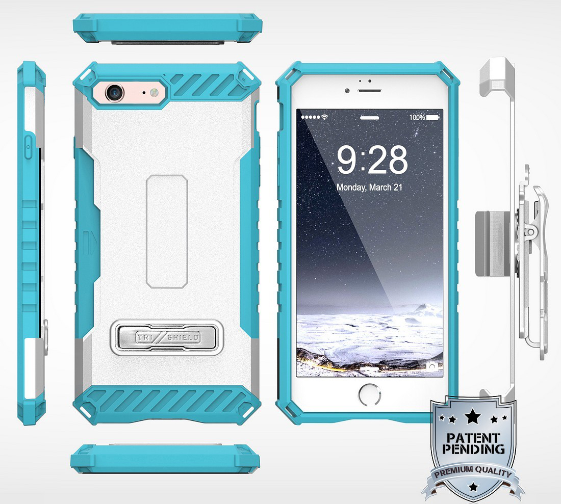 thumbnail 50 - TRI-SHIELD RUGGED CASE STAND CARD SLOT COVER + STRAP + BELT CLIP FOR iPHONE 8/7