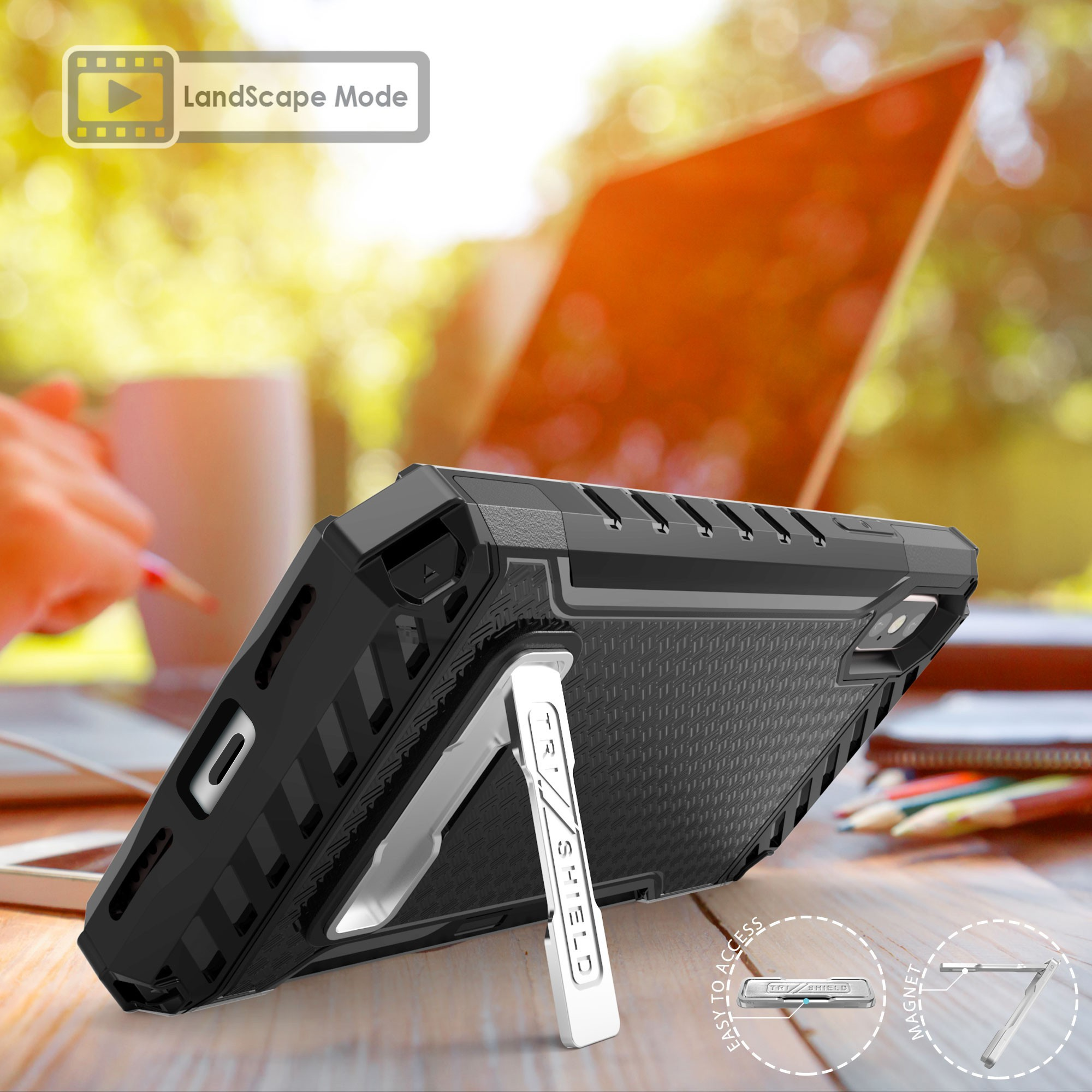 thumbnail 3 - TRI-SHIELD RUGGED CASE STAND CARD SLOT + BELT CLIP HOLSTER FOR APPLE iPHONE X 10