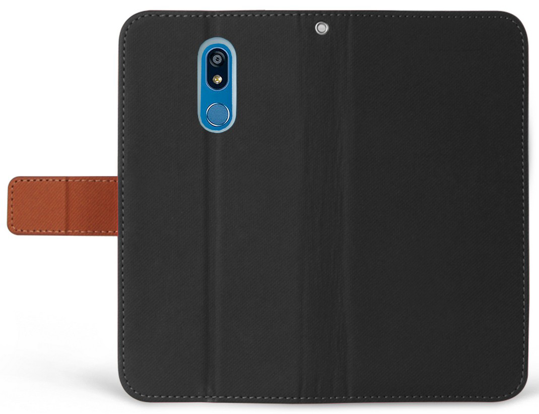 thumbnail 5 - Durable Secure Wallet Case Credit Card Slot Cover Strap for LG Harmony 3 LMX420