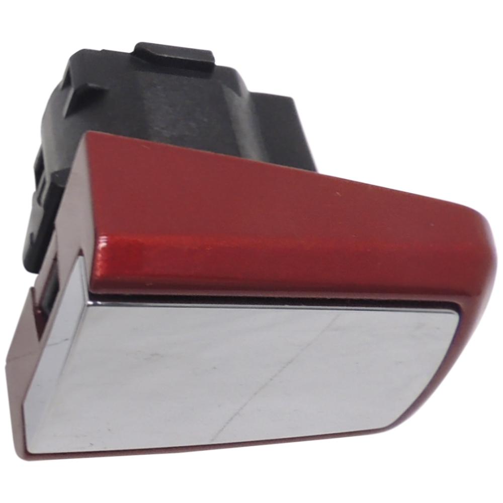 25936881 Door Handle Bezel Rear w//o Keyhole Painted Carbon Flash w//Chrome Insert
