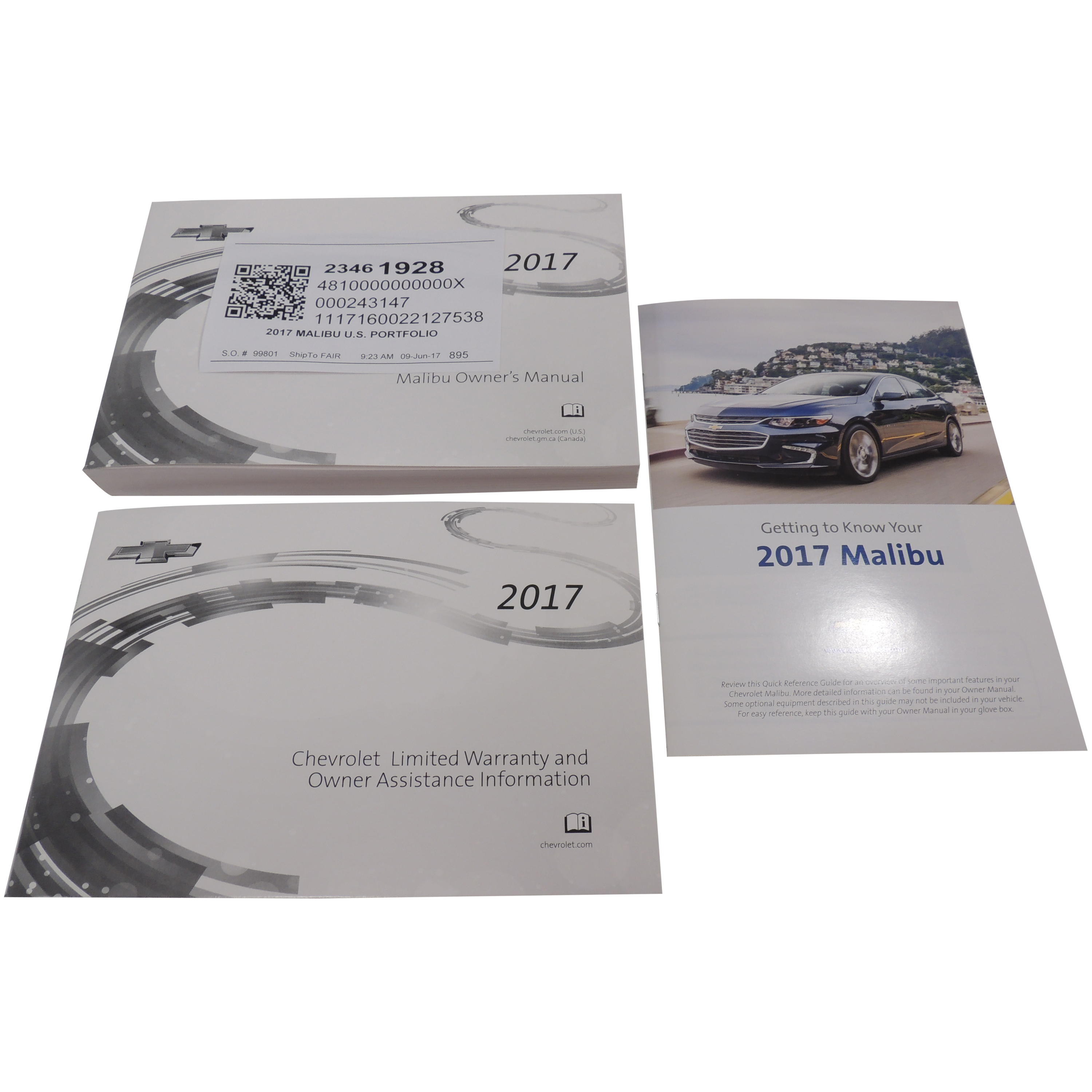 OEM 2015 Chevrolet Chevy Malibu Owner/'s Manual User Guide
