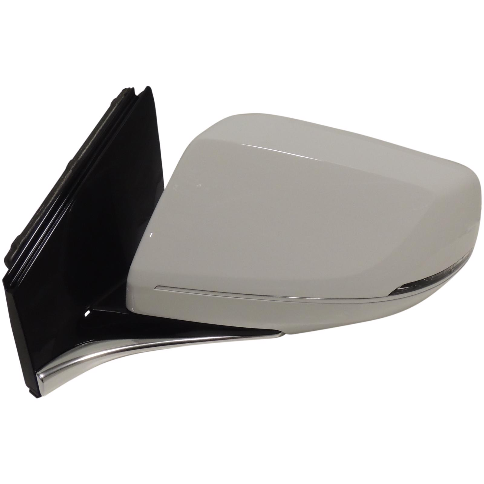 New OEM Mirror Fits 2013 2014 2015 Cadillac XTS WHITE Right Passenger Side