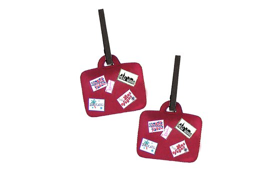 Constellation Scorpius Travel Tags For Travel Tags Accessories 2 Pack Luggage Tags
