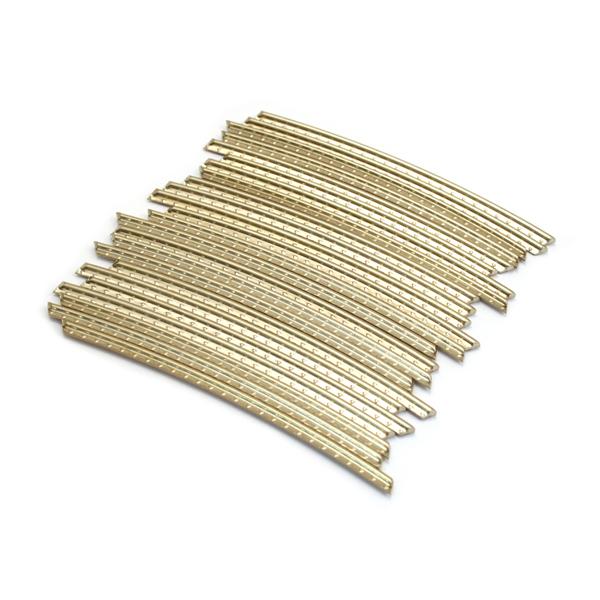 genuine fender fret wire jumbo guitar fret wire 12 radius 24 pack ebay. Black Bedroom Furniture Sets. Home Design Ideas