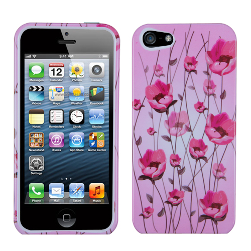 two piece plastic hard snap on design protective cover case for iphone 5 ebay. Black Bedroom Furniture Sets. Home Design Ideas