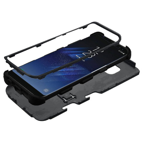 miniature 12 - For Samsung Galaxy S8 TUFF Hybrid Phone Hard Impact Protector Case Cover w/Stand