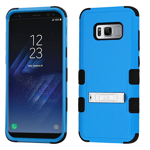 miniature 43 - For Samsung Galaxy S8 TUFF Hybrid Phone Hard Impact Protector Case Cover w/Stand