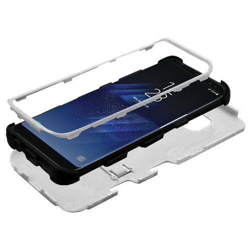miniature 52 - For Samsung Galaxy S8 TUFF Hybrid Phone Hard Impact Protector Case Cover w/Stand