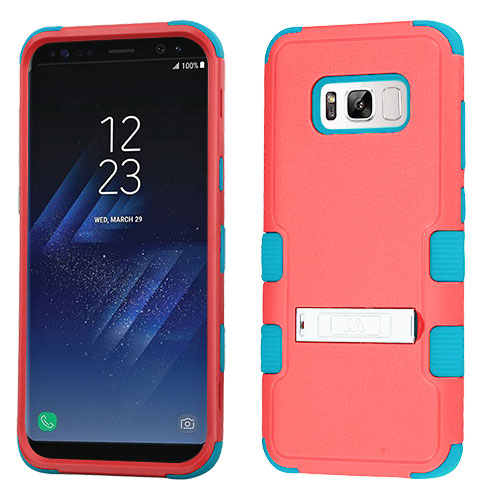 miniature 3 - For Samsung Galaxy S8 TUFF Hybrid Phone Hard Impact Protector Case Cover w/Stand