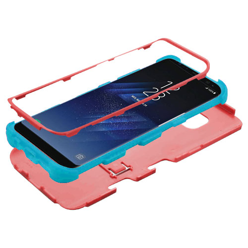 miniature 4 - For Samsung Galaxy S8 TUFF Hybrid Phone Hard Impact Protector Case Cover w/Stand