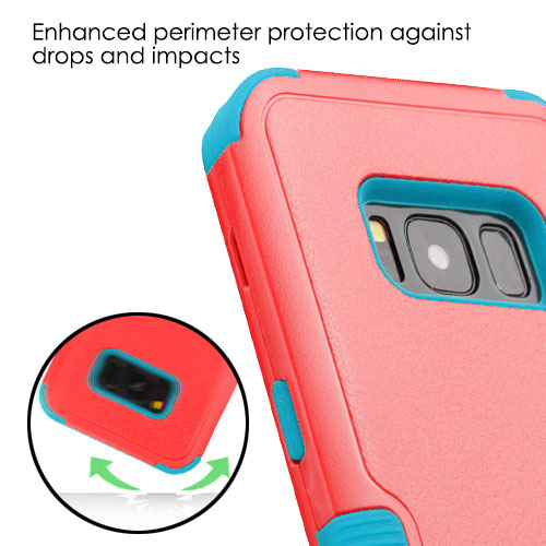 miniature 7 - For Samsung Galaxy S8 TUFF Hybrid Phone Hard Impact Protector Case Cover w/Stand