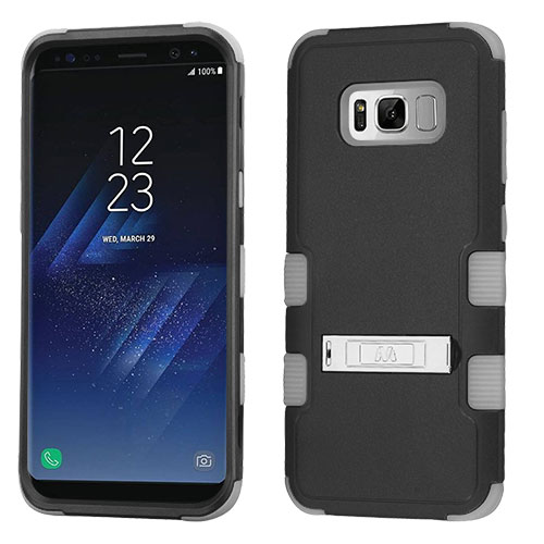 miniature 19 - For Samsung Galaxy S8 TUFF Hybrid Phone Hard Impact Protector Case Cover w/Stand