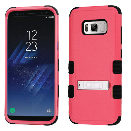 miniature 59 - For Samsung Galaxy S8 TUFF Hybrid Phone Hard Impact Protector Case Cover w/Stand