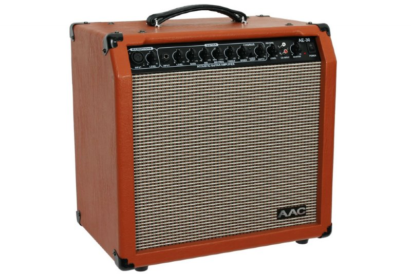 aac ae 30 30 watt acoustic guitar amplifier 10 speaker ebay. Black Bedroom Furniture Sets. Home Design Ideas