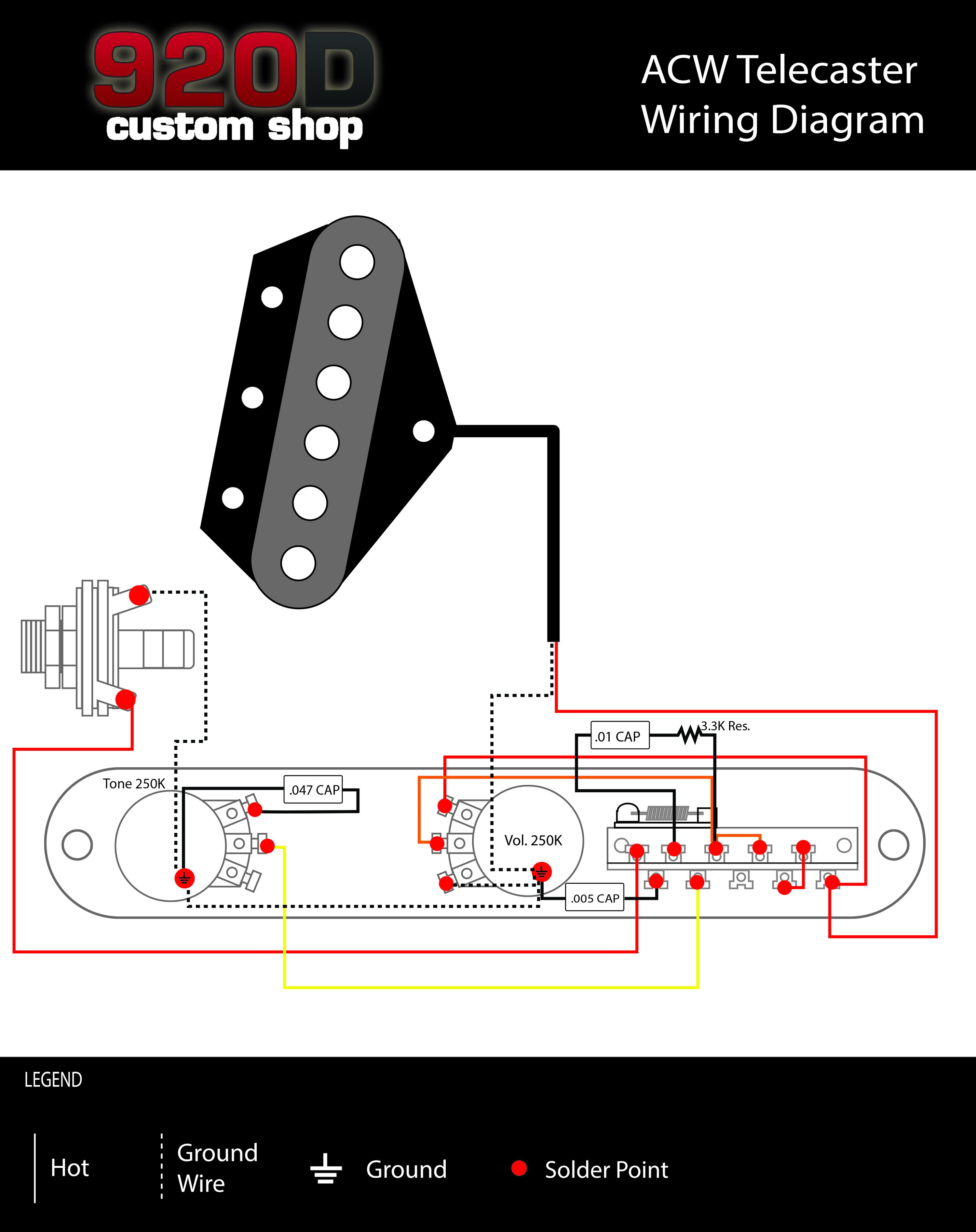 telecaster control plate wiring diagram get free image