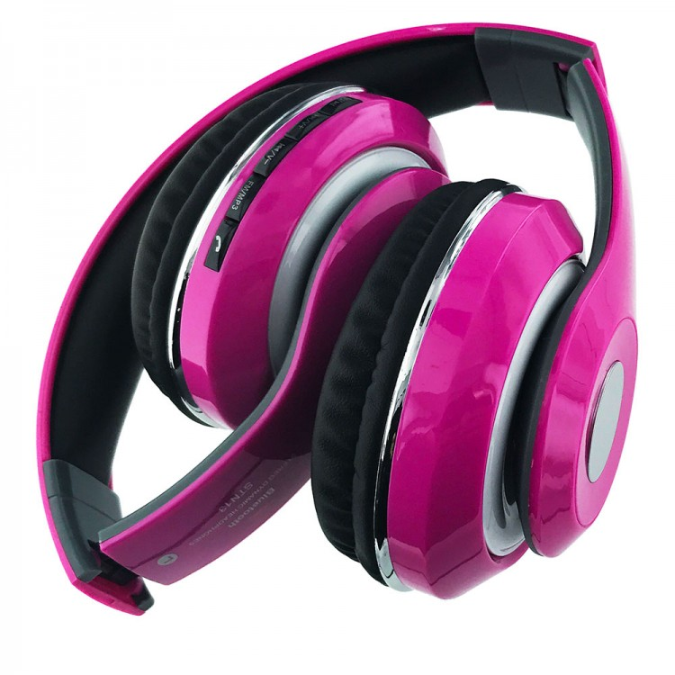 Bluetooth Wireless Headphones With Built In FM Tuner