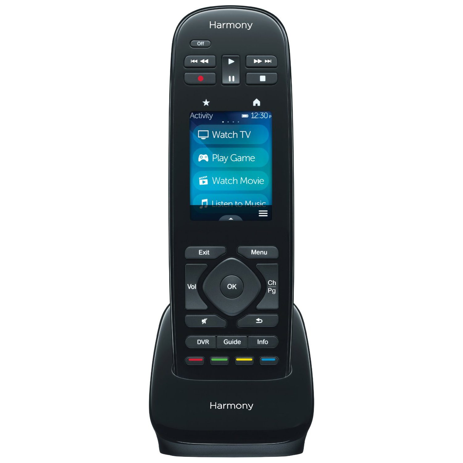 logitech harmony ultimate one universal remote control 2 4 touch 915 000224 689847828215 ebay. Black Bedroom Furniture Sets. Home Design Ideas