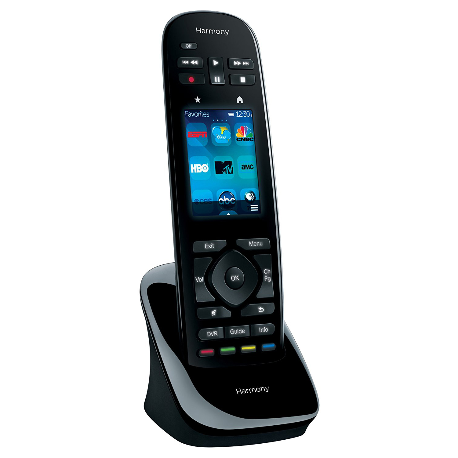 logitech harmony ultimate one universal remote control 2 4 touch 915 000224 ebay. Black Bedroom Furniture Sets. Home Design Ideas