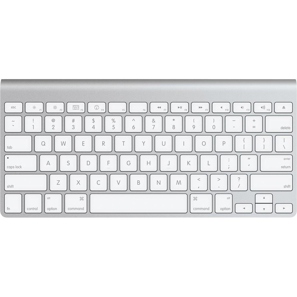 apple wireless aluminum bluetooth macbook compact keyboard mc184lla ebay. Black Bedroom Furniture Sets. Home Design Ideas