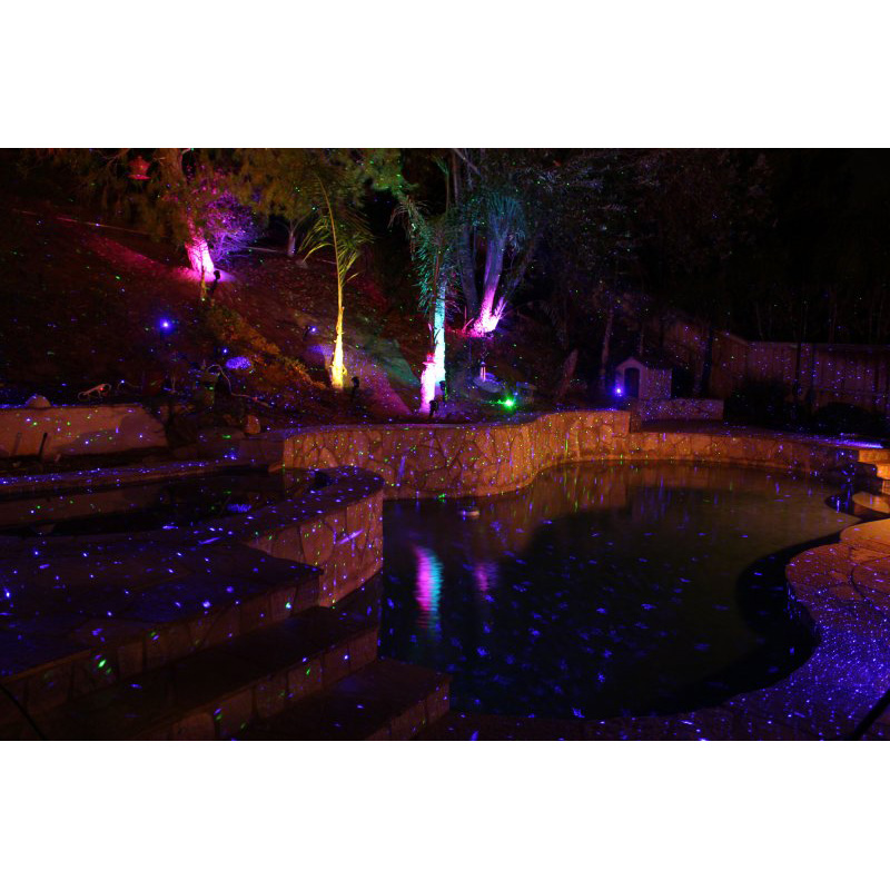 BlissLights Colors Outdoor/Indoor Laser Projector LED Show
