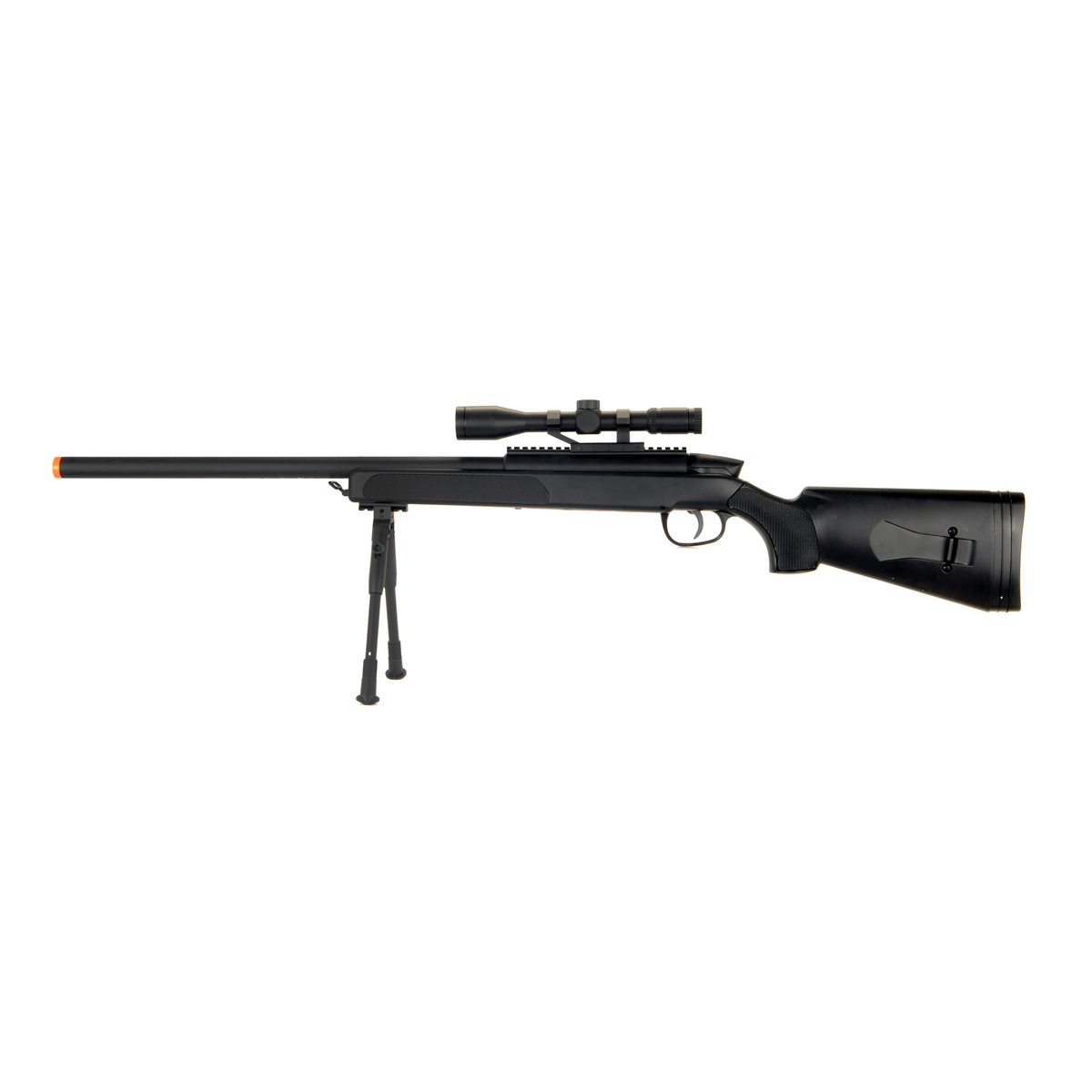 Cyma ZM51 Spring Powered Airsoft Bolt Action Sniper Rifle with Scope and Bipod