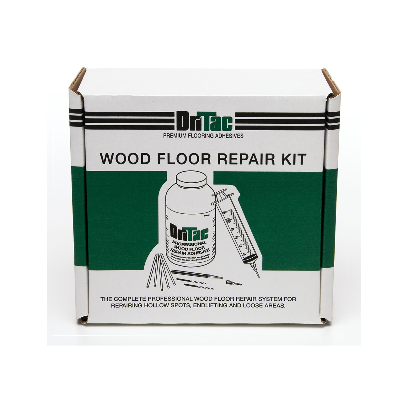 Dritac premium flooring adhesives wood floor repair kit for Hardwood floor repair