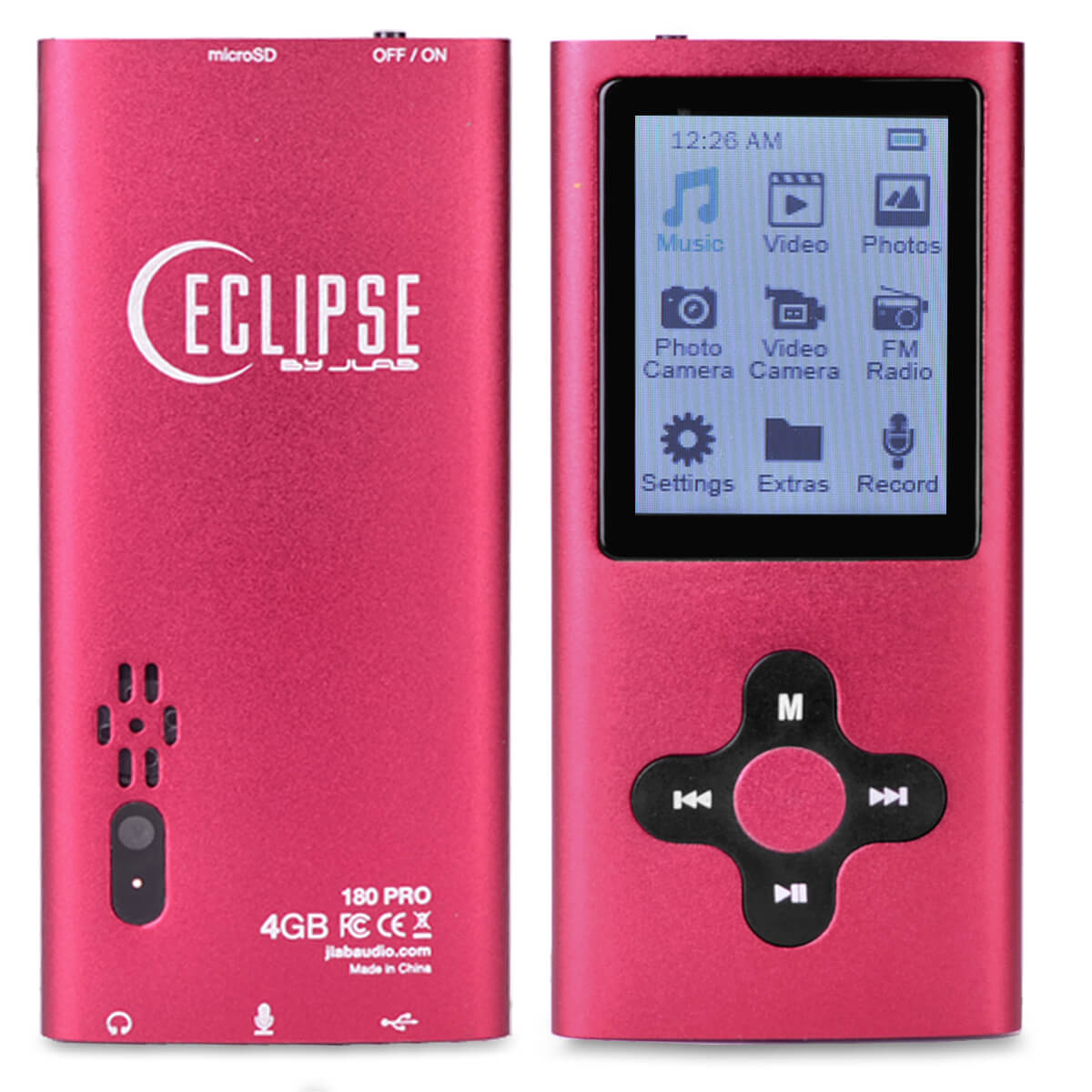 eclipse 180 pro 4gb mp3 mp4 digital music 1 8 video player voice rh ebay com eclipse 180g2 mp3 player user manual eclipse 180 mp3 player user manual