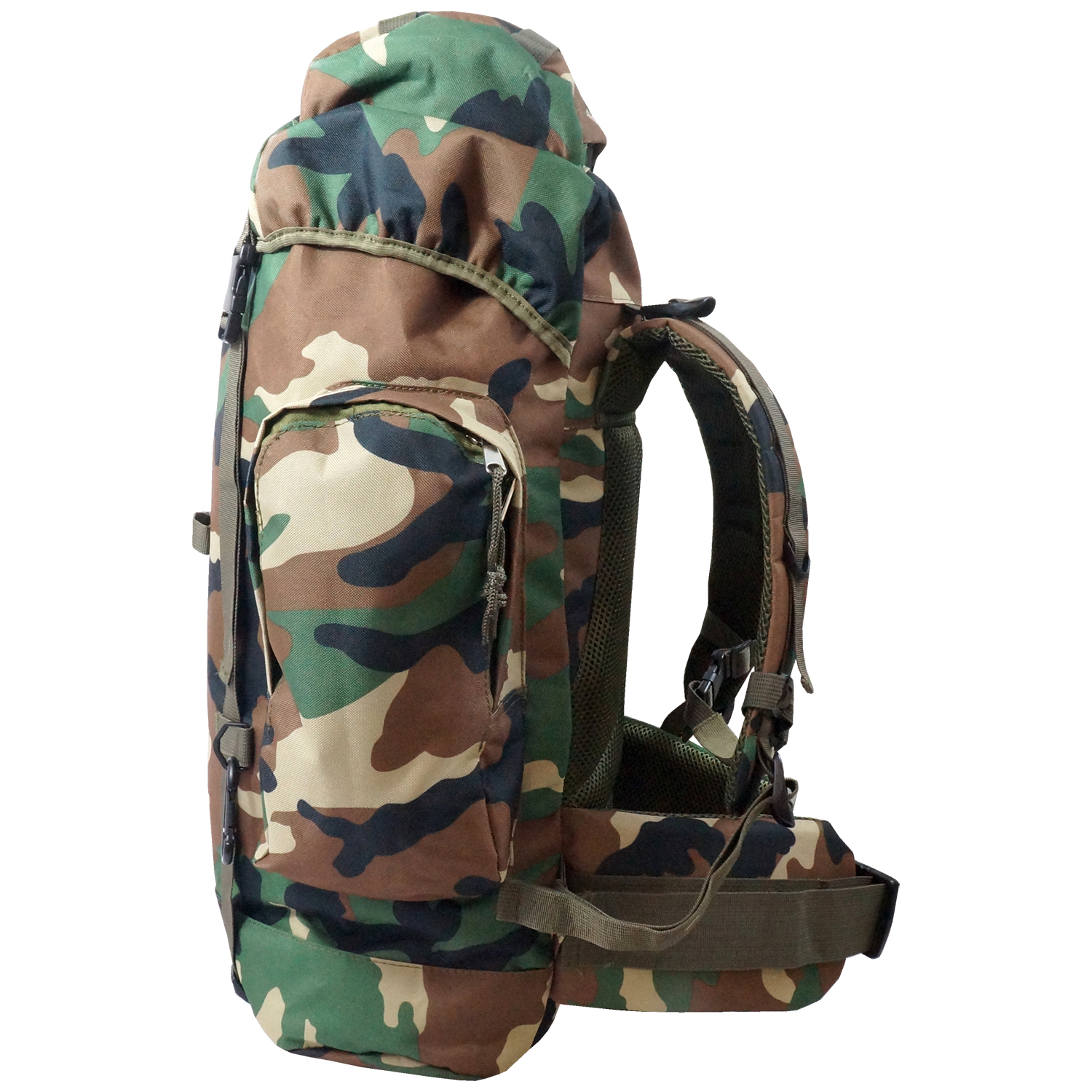 Every Day Carry Heavy Duty XL Mountaineer Hiking Day Pack ...