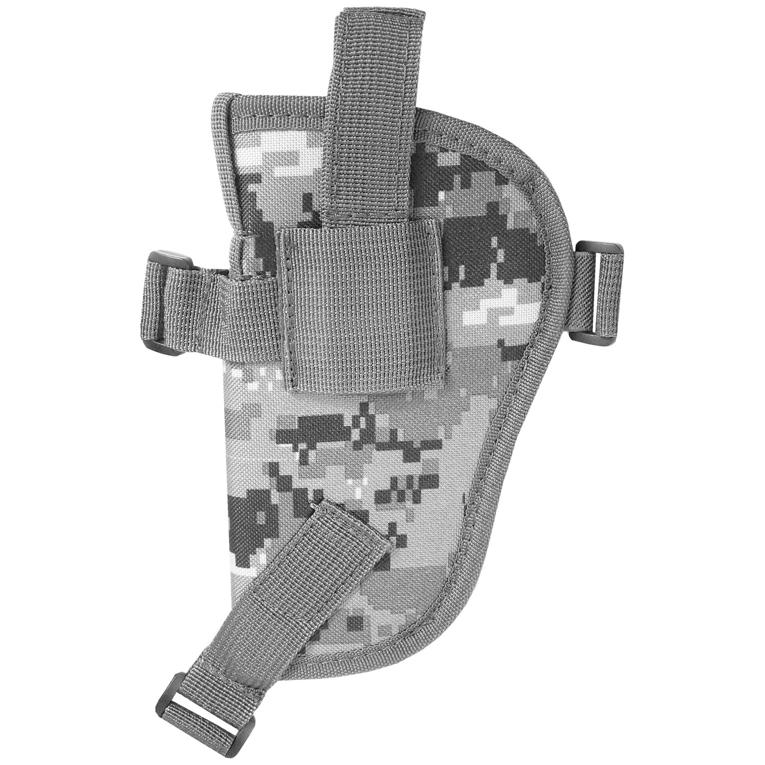 Explorer H24-BK Fully Adjustable Every Day Carry Tactical Under Arm Double Pistol Carrier Black
