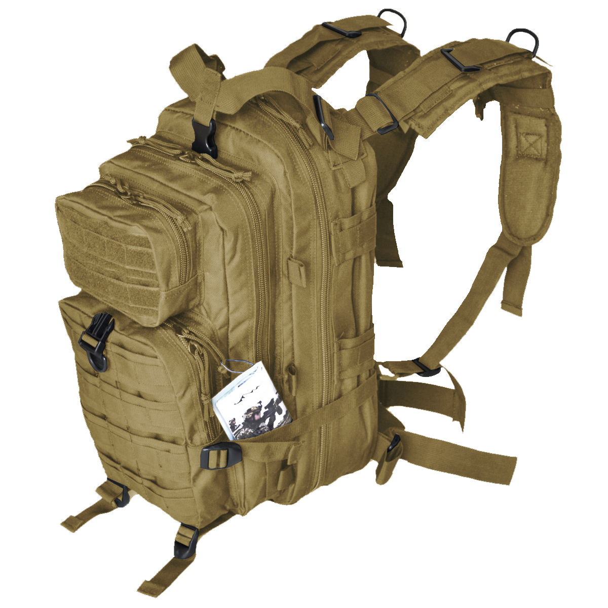 Every Day Carry Day Pack Backpack EDC MOLLE Military ...